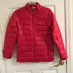 Columbia jacket, girls L